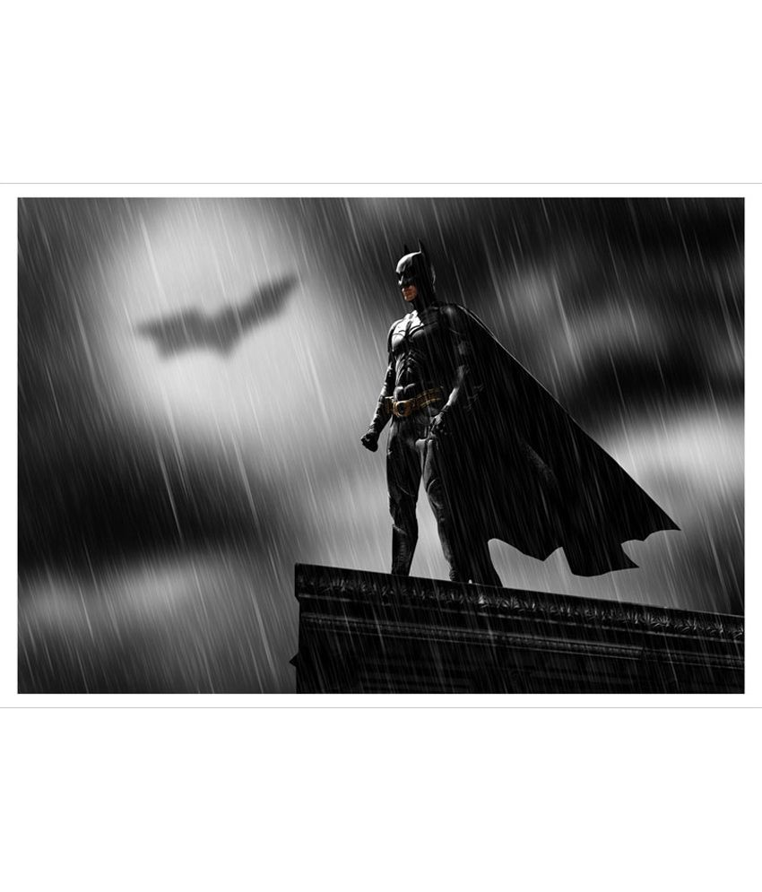 buy trophydeal batman hd poster at best prices in india on snapdeal. Black Bedroom Furniture Sets. Home Design Ideas