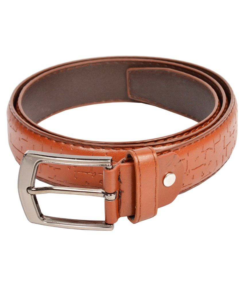 dandy brown non leather belt buy at low price in