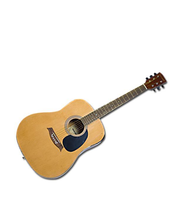 Sonido Acoustic Guitar SH R103   (Light Natural) available at SnapDeal for Rs.7399