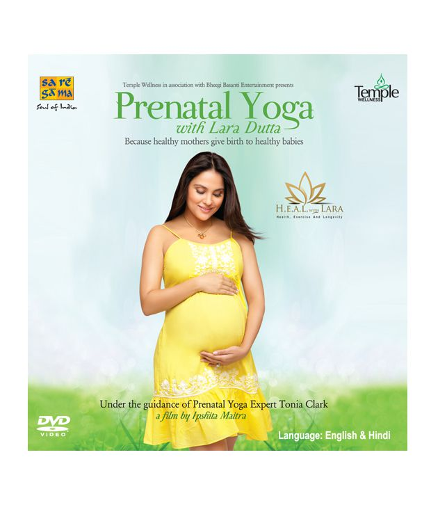 Prenatal Yoga with Lara Dutta (English) [DVD]