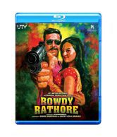 Rawdy Rathore (Hindi) [Blu-ray]