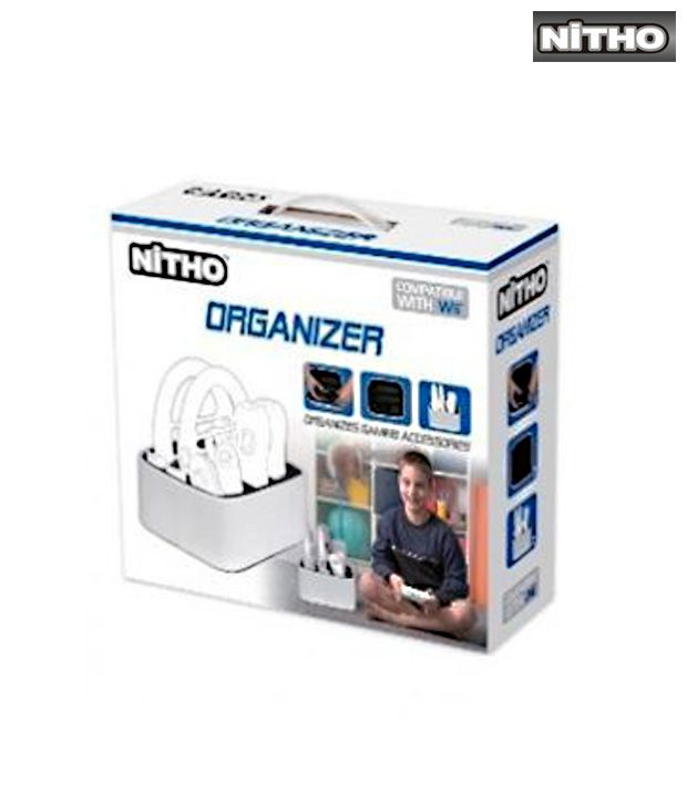Nitho Organizer White for Wii