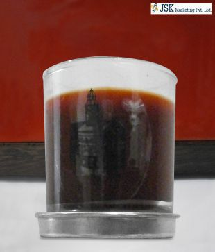 Eden Clove Dark Red Candle