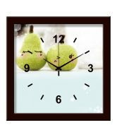 Artjini Green Fruits Table Clock