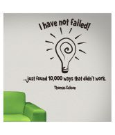 DeStudio I Have Not Failed Black Wall Sticker