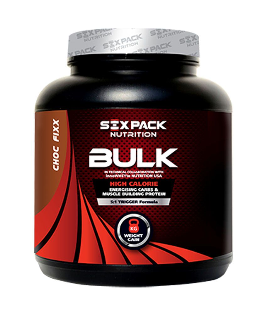 Six Pack Nutrition Bulk, 4 Kg: Buy Six Pack Nutrition Bulk