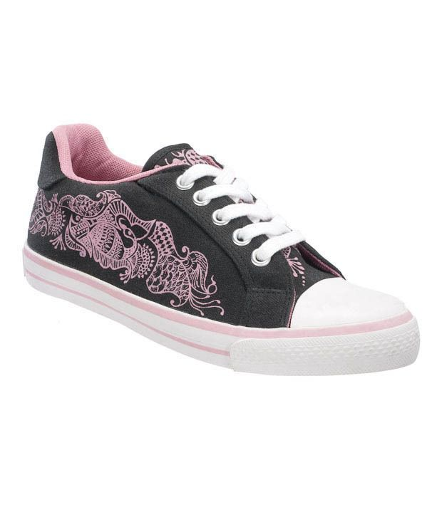 reebok on court black pink casual shoes price in india