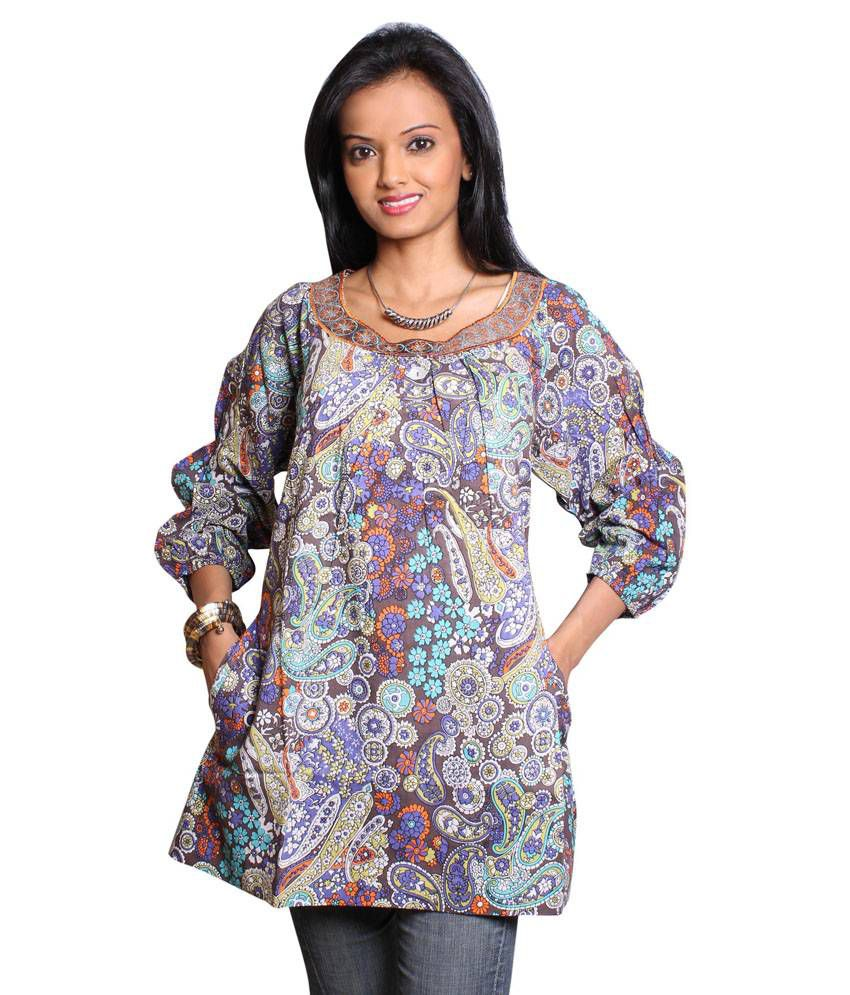 Vivante Printed Cotton Kurti