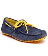 Bacca Bucci Blue & Yellow Loafers