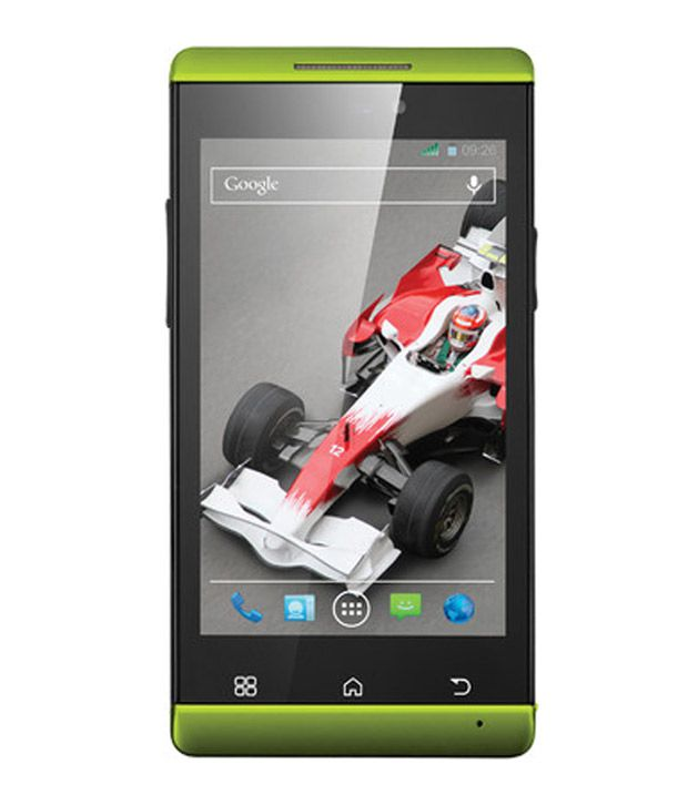 Xolo A500s IPS  Green  available at SnapDeal for Rs.6789