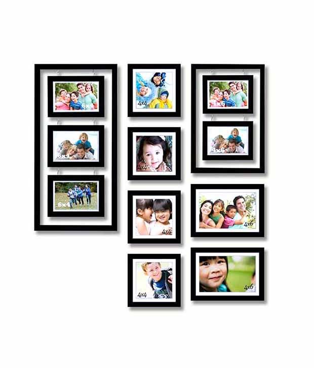 Painting Mantra Designer Black Photo Memory Wall