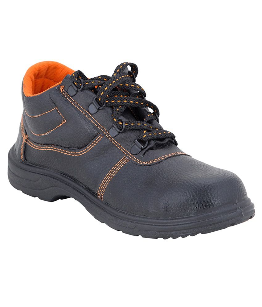 Hillson Black Safety Shoes Price In India- Buy Hillson Black Safety Shoes Online At Snapdeal