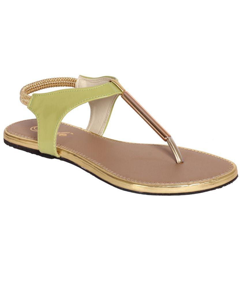 Jade Pretty Green Sandals