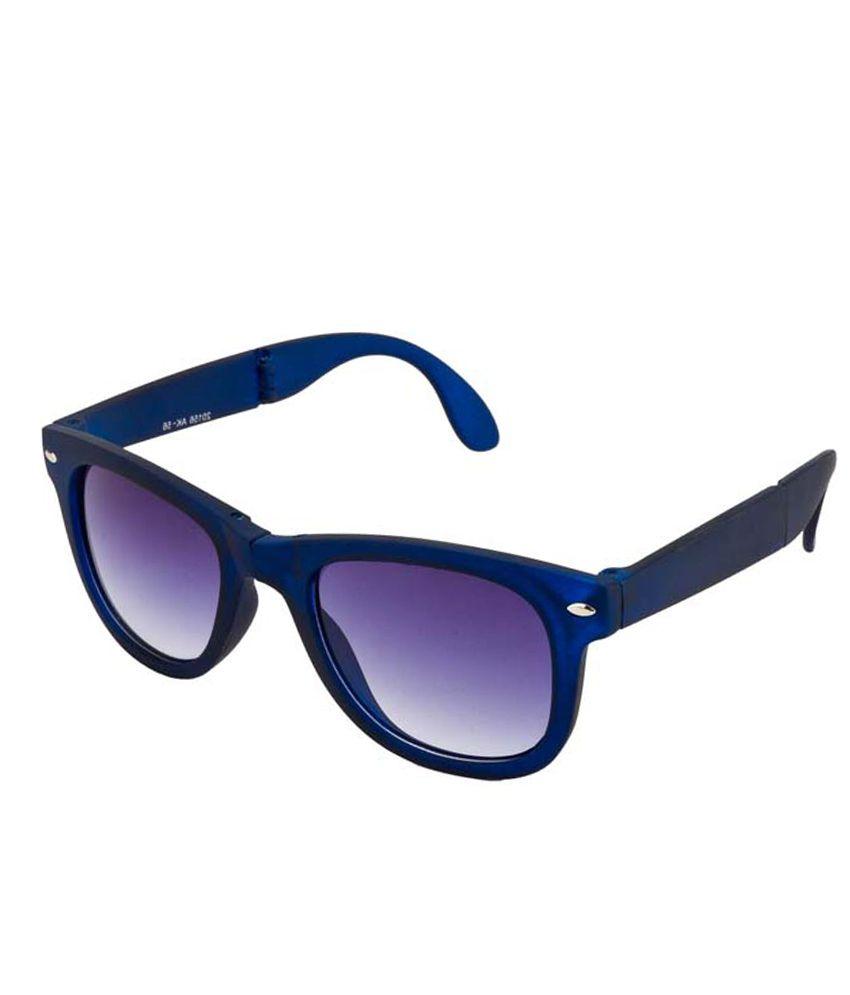 Mango People Black Non Metal Wayfarer Sunglasses