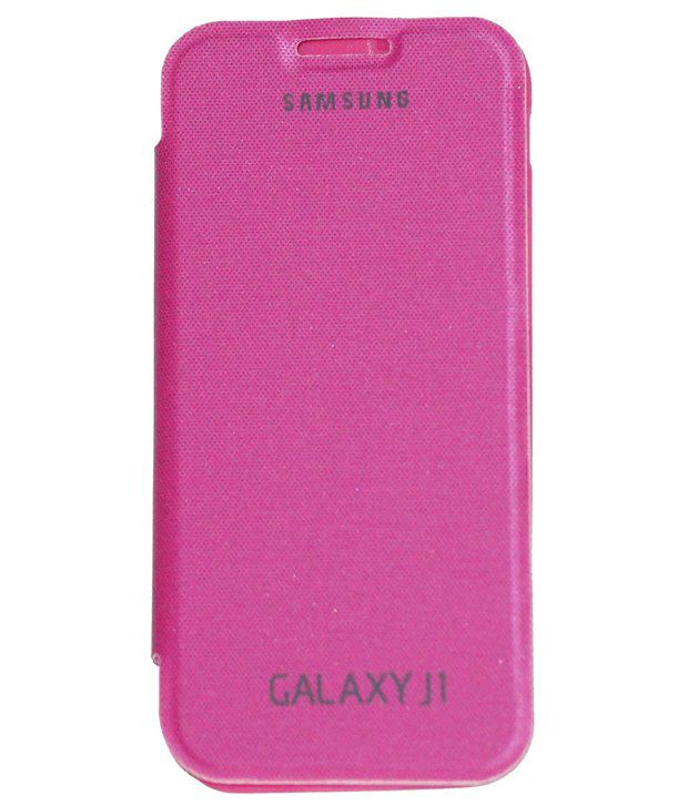 check out 47676 2a118 OSR Flip Cover for Samsung Galaxy J1 - Pink