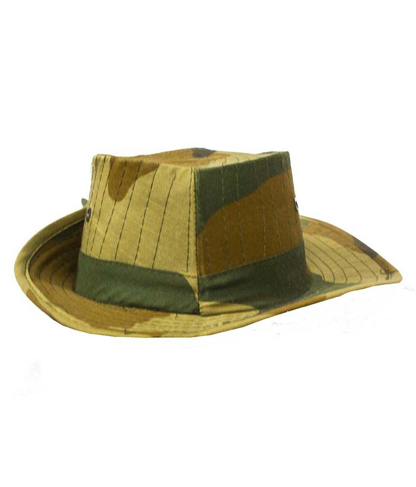 Allwin Green Cotton Hat