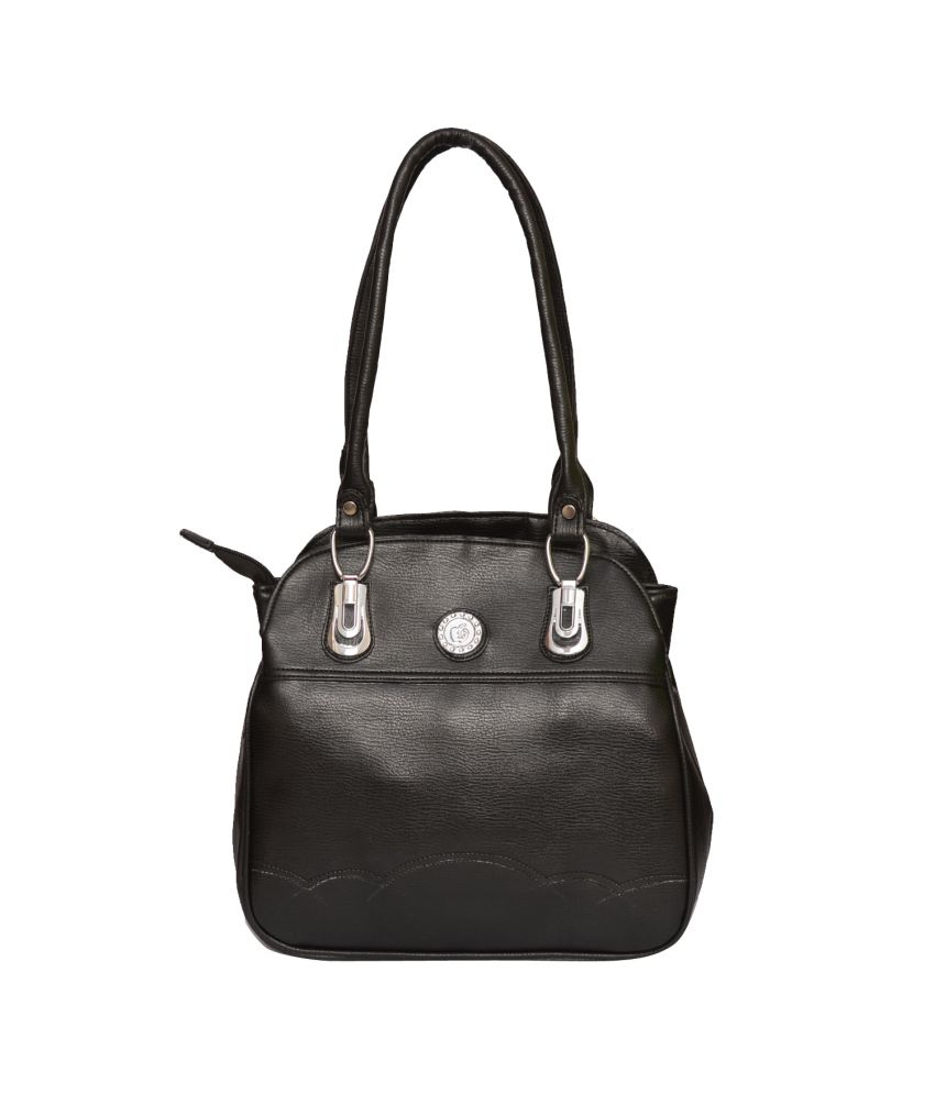 54e442ab5468 Amage Black Shoulder Bag For Women - Buy Amage Black Shoulder Bag For Women  Online at Best Prices in India on Snapdeal