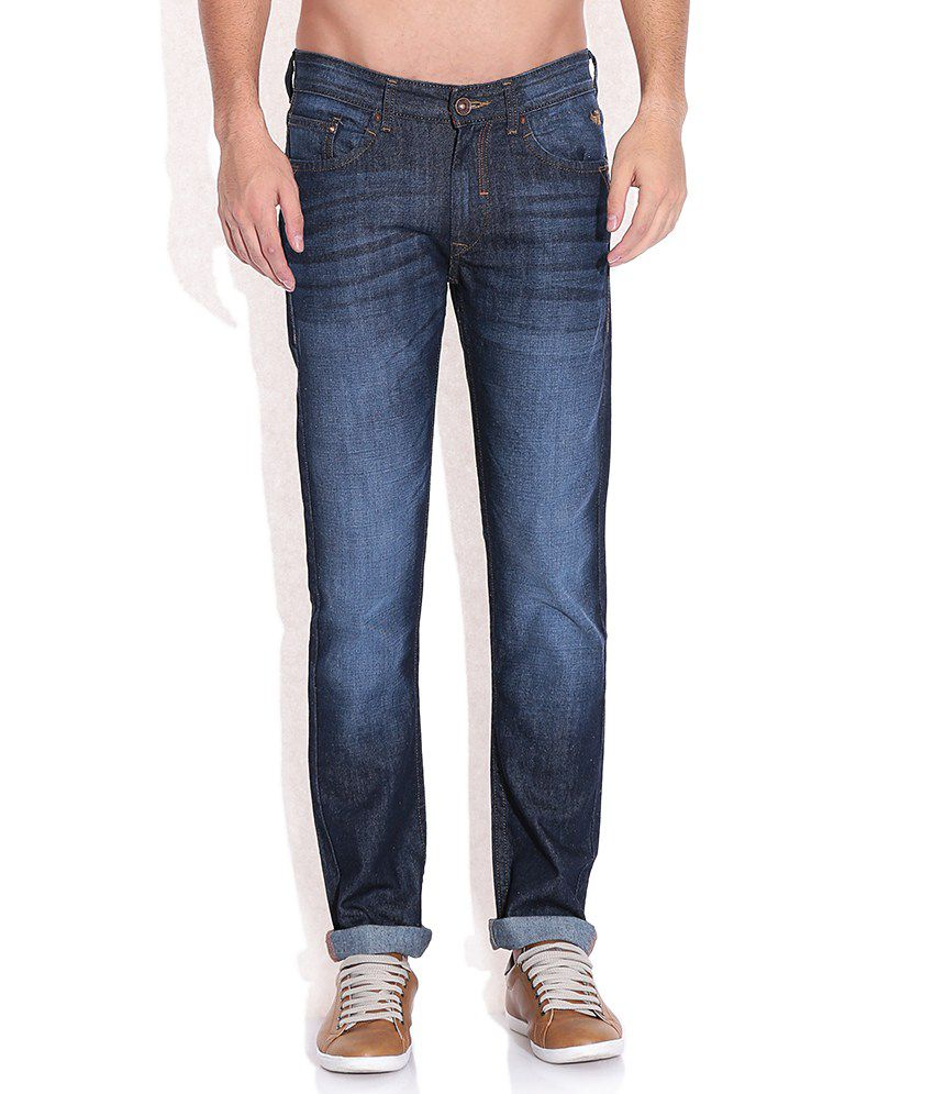 Flying Machine Blue Slim Fit Jeans