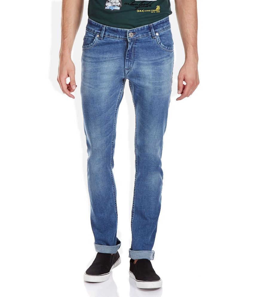 Duke Blue Regular Fit Jeans