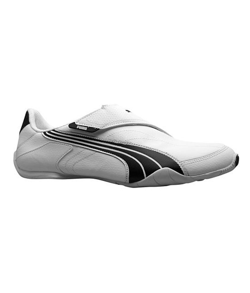 9ed0eff7024828 Puma White Synthetic Leather Velcro Sneaker Shoes Puma White Synthetic  Leather Velcro Sneaker Shoes ...