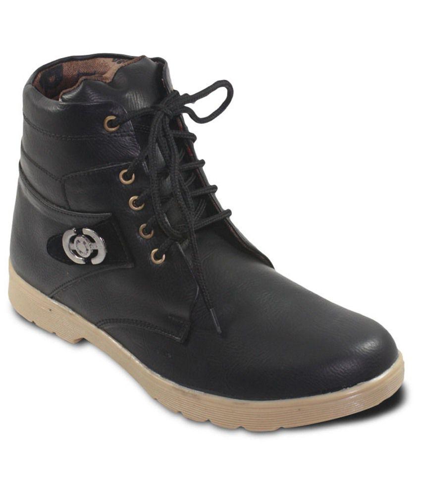 Donner Black Boots