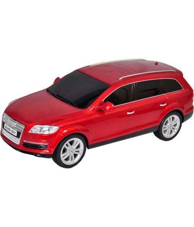 Mera Toy Shop Audi Q7 1:12 Scale Remote Control Car Red