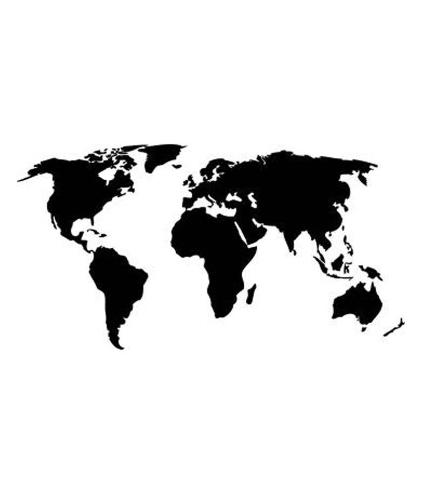 Wallmantra World Map Wall Decor Wall Sticker - Buy Wallmantra World on world map tree decal, world wall sticker, world map baby nursery, large world map decal, world map box, world map pottery barn decal, world country decals, world map mobile, awesome truck stickers decal, world map bedroom decor, world map engraving, world map skin, world map stencil, giant world map decal, world map family, world map bowl, world map macbook decal, world vinyl paper, world map wallpaper, world map magnet,