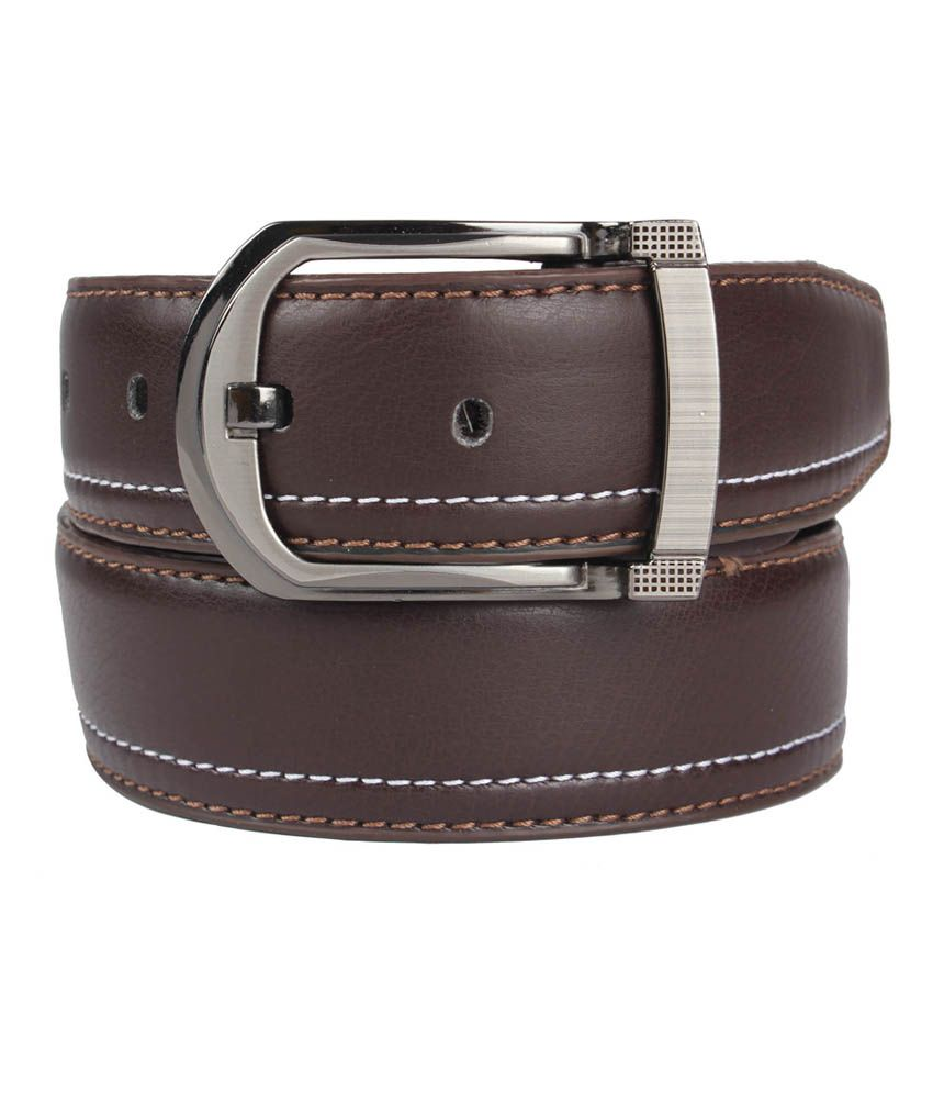 Blute Black Elegant Buckle Formal Belt