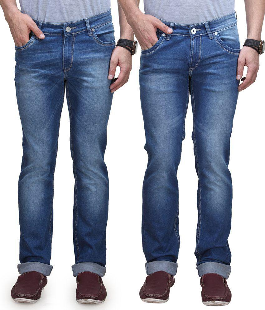 Vintage Blue Jeanswear Blue Straight Jeans