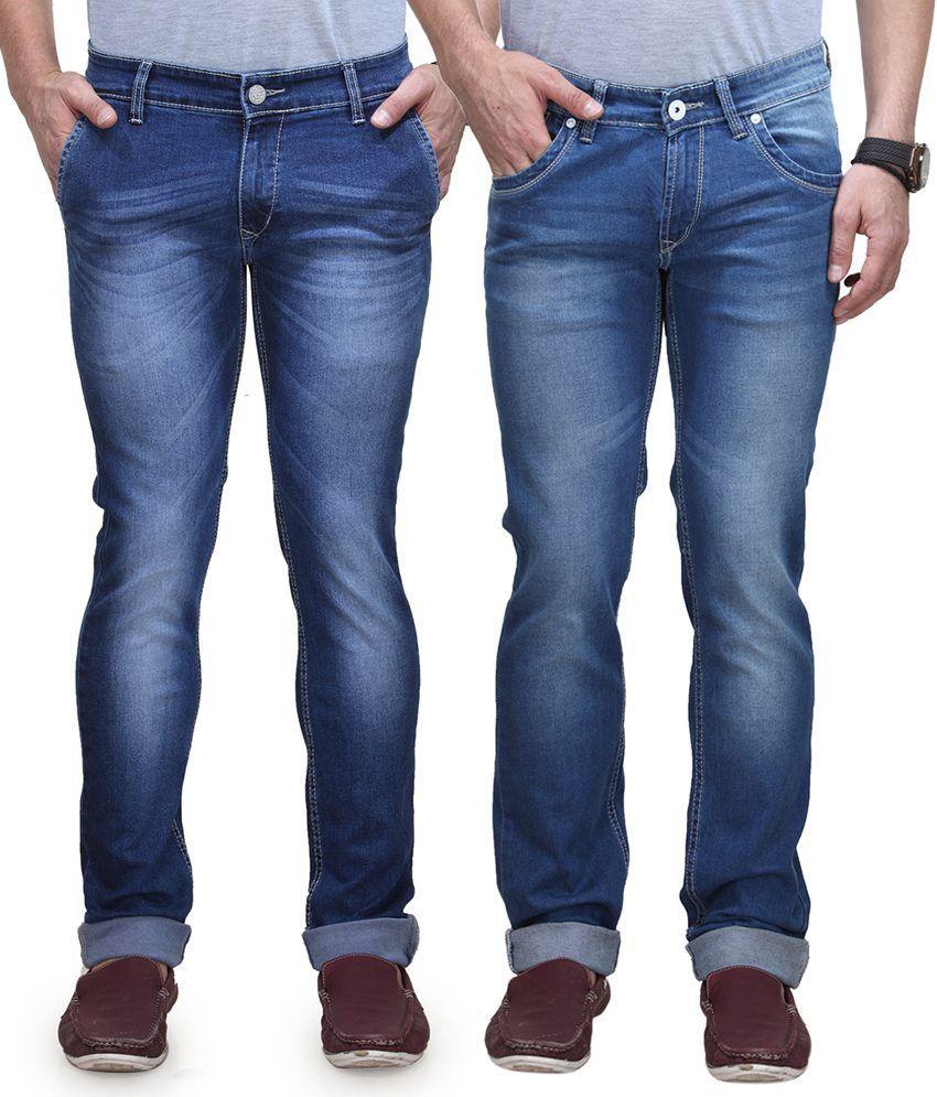 Vintage Blue Jeanswear Blue Tapered Jeans