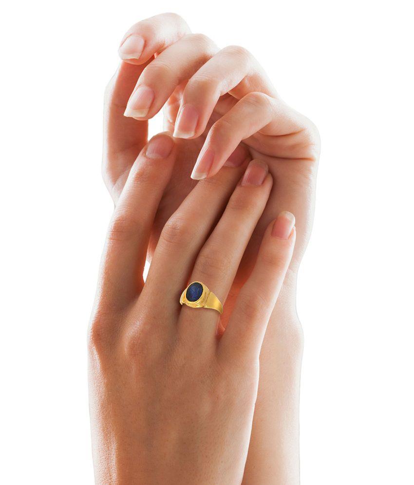 Buy Pukhraj Stone Ring