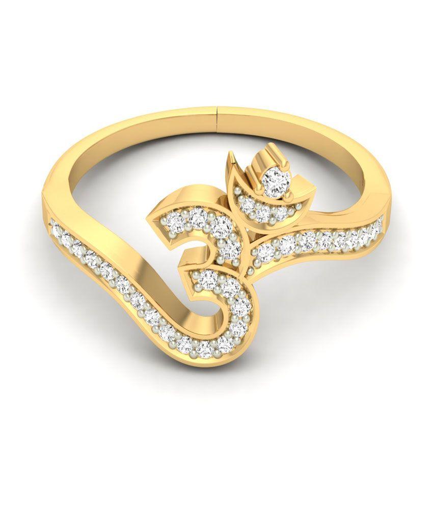 Jewels5 Om Design Gold Ring Buy