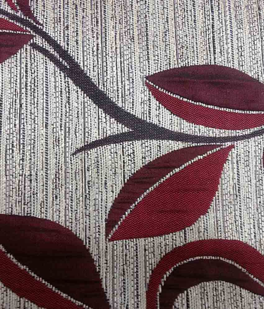 New surplus red floral poly cotton curtain fabric buy for Buy curtain fabric online