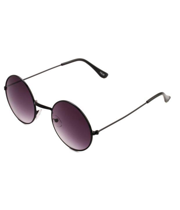 Pede Milan PM-163 Black Aviator Men Sunglasses