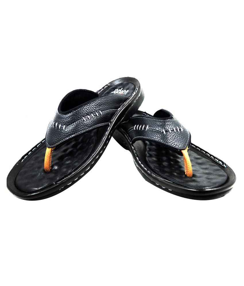 Wood Cooper Black Sandals For Men Price In India Buy Wood