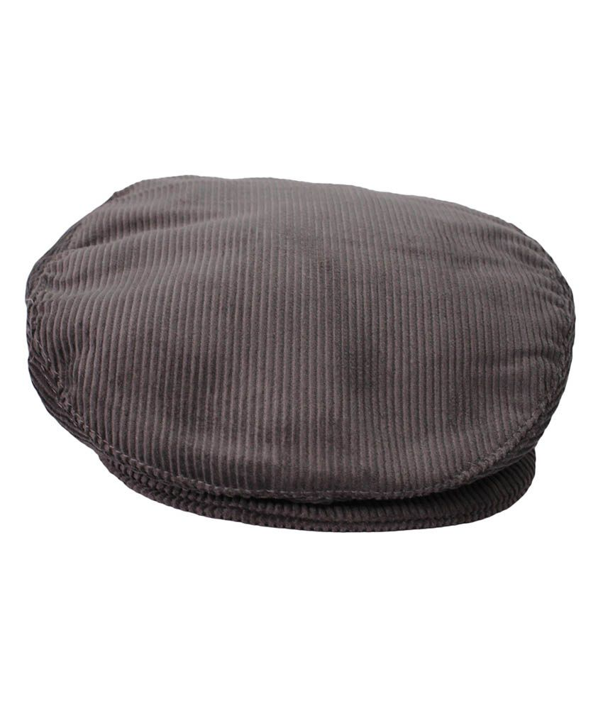 Air Fashion Brown Cotton Cotteridge Golf Cap