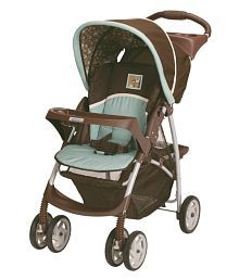 LiteRider Classic Connect Stroller- Little Hoot