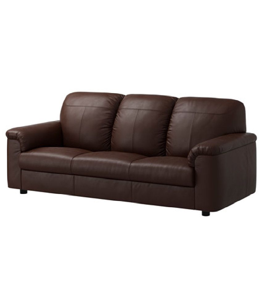 Sofas For Cheap Prices: Leatherette 5 Seater Sofa (3+2) In Brown