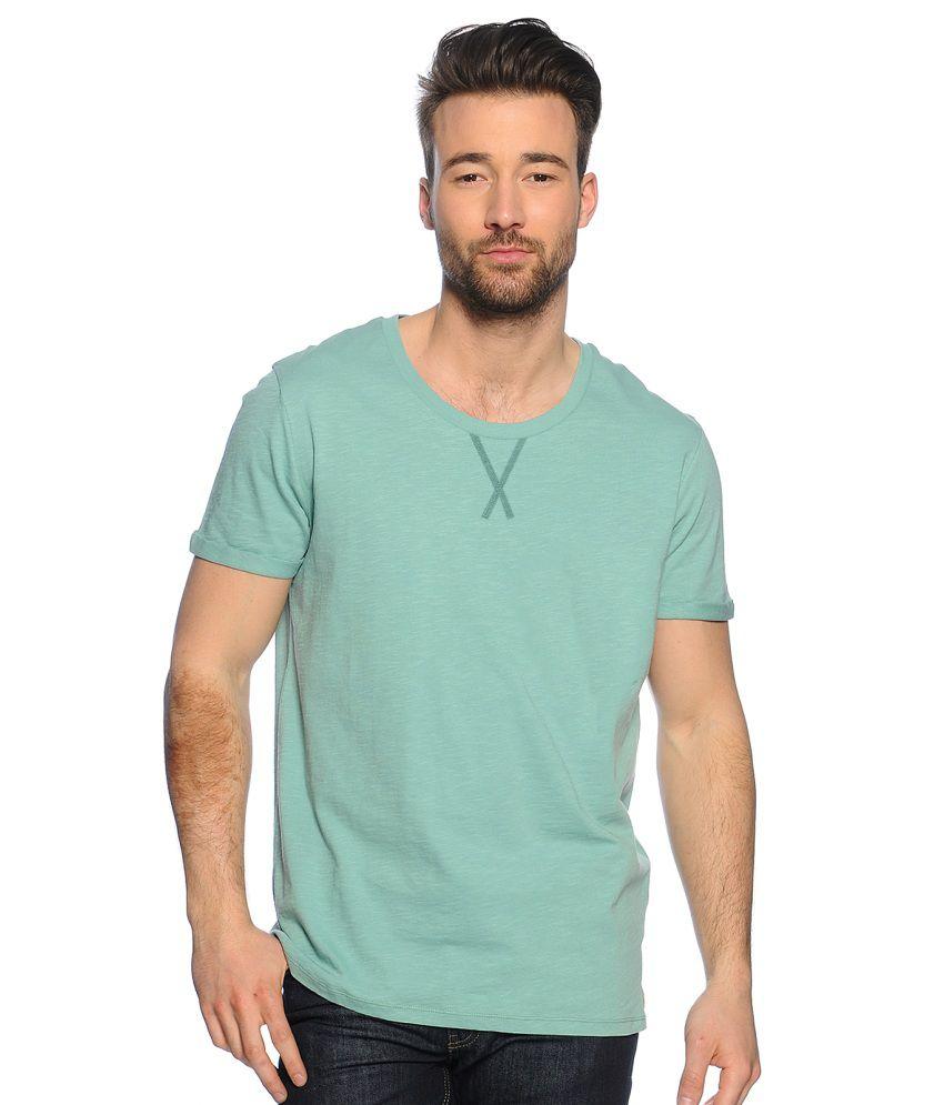 Zachi Green Cotton T-shirt