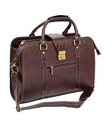 Bag Jack Eltanin Brown Leather Office Messenger Bag