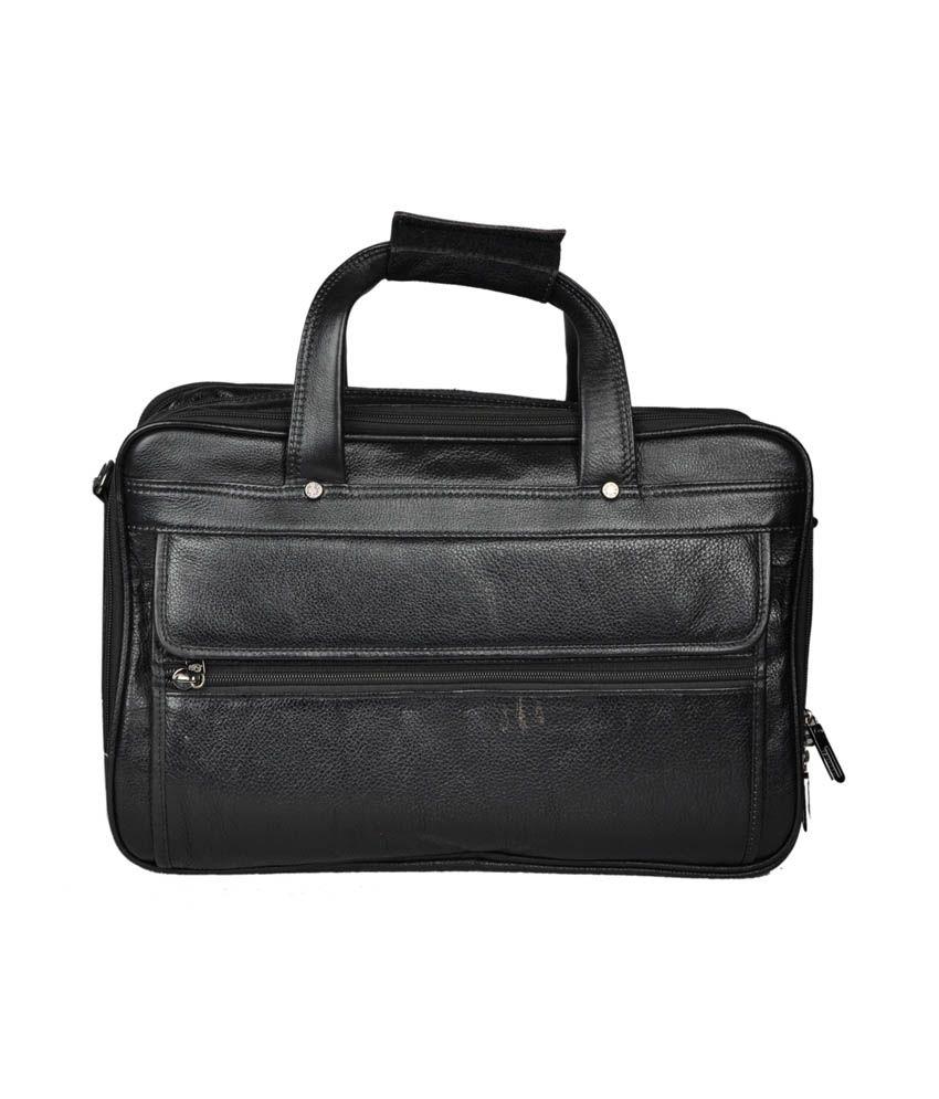 Bag Jack Black Leather Arcturus Bag