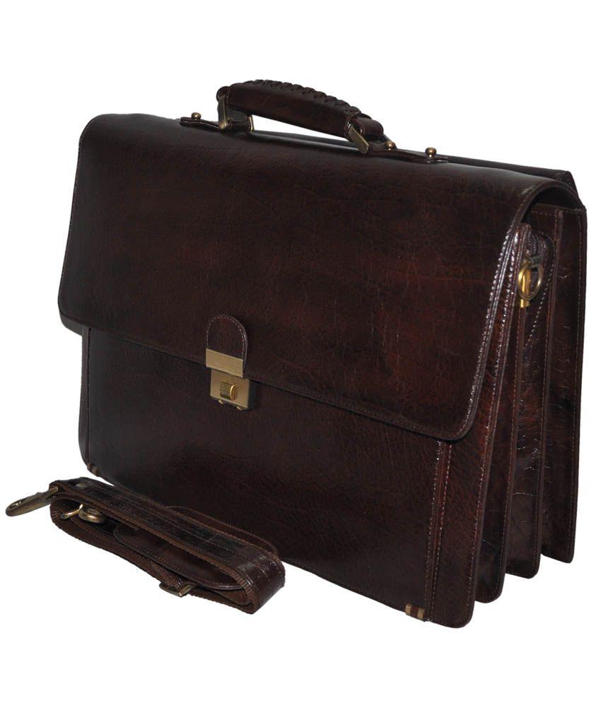 Bag Jack Brown Leather Sceptrum Bag