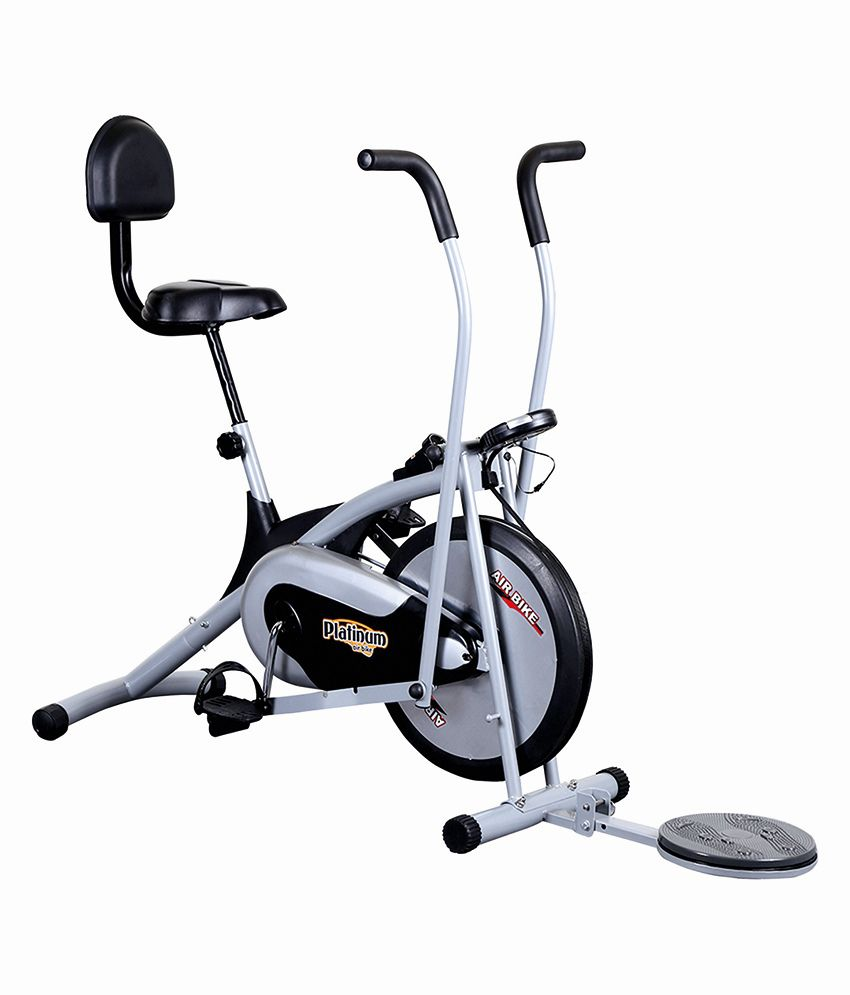 314ffe626c9 Deemark Bodygym Air Bike Exercise Cycle  Gym Equipment Platinum Dx with  Twister   Exercise Machine  Buy Online at Best Price on Snapdeal