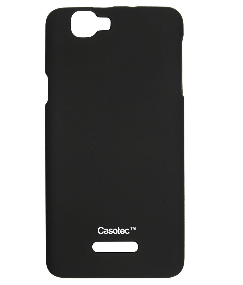 buy popular 096ca b05a6 Casotec Back Cover For Micromax Canvas 2 Colours A120-Black