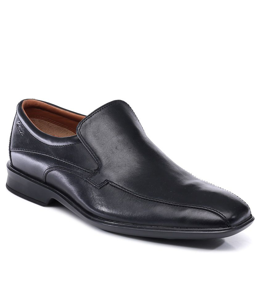 4dc052d19fd9e Clarks Black Formal Shoes Price in India- Buy Clarks Black Formal Shoes  Online at Snapdeal