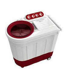Whirlpool ACE 7.0 STAINFREE 7 Kg Top Load Semi Automatic Washing Machine - Floral Red
