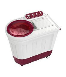 Whirpool 7 Kg ACE 7 TURBODRY Semi Automatic Top Load Washing Machine Coral Red