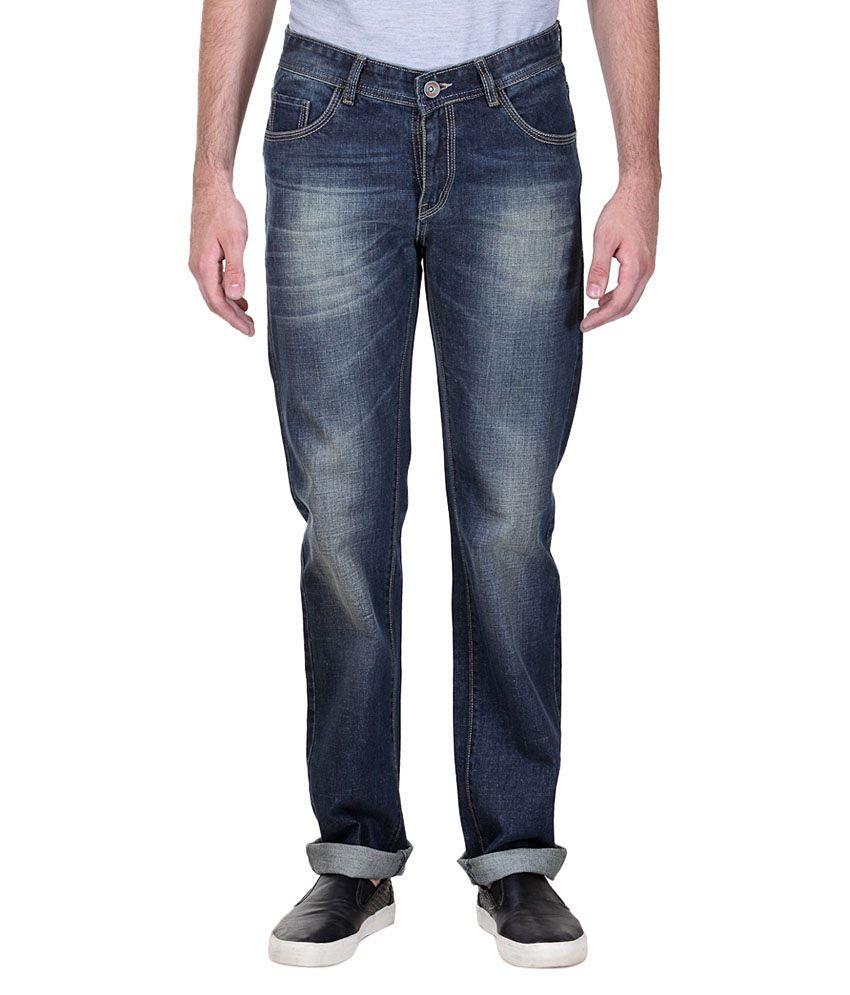 Fever Stylish Cotton Regular Fit Denim Jeans