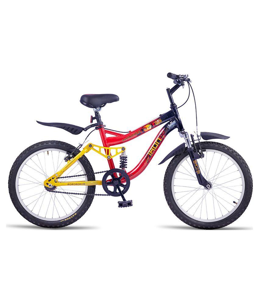 Hero Disney 20T Ironman Junior Cycle - Black & Red: Buy ...