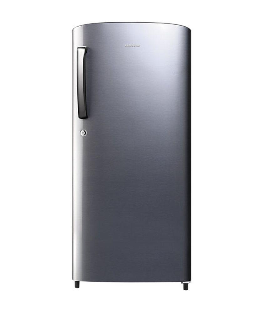 Samsung 192 Ltr 4 Star RR19J2414SA Single Door Refrigerator - Metal Graphite